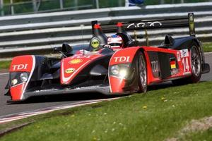 Andy Meyrick is competing in the Le Mans Series with Kolles LMP in 2009