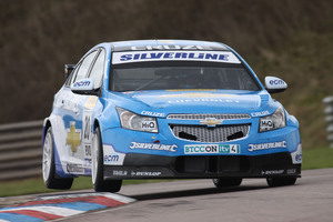 Alex at Thruxton 3-4 April 2010 for BTCC