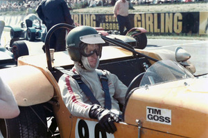 Tim at Brands Hatch in 1970