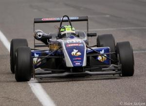 Callum McLeod is racing in the Formula 3 Open Series with West-Tec in 2009