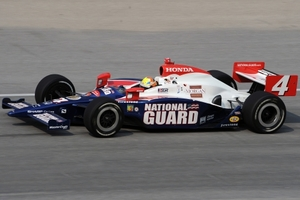 Dan Wheldon is racing in the Indy Racing League with Panther Racing in 2009