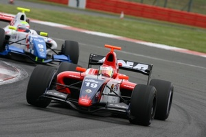 Fairuz Fauzy is racing in the Formula Renault 3.5 championship with Fortec Motorsport in 2009