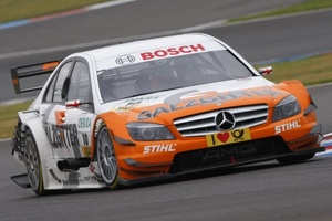 Gary Paffett is driving for Mercedes in the DTM Championship in 2009