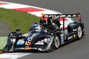 James Walker in action in the FIA World Endurance Championship at Silverstone