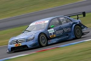 Jamie Green is racing in the DTM championship with Junge Sterne AMG Mercedes in 2009