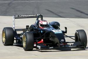 Jay Bridger is racing in the Cooper Tires British Formula 3 International Series with Litespeed in 2009
