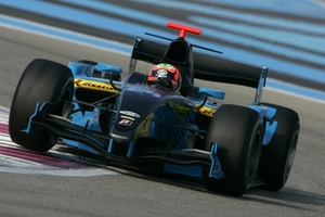 Karun Chandhok is racing in the GP2 Series with Ocean Racing Technology in 2009