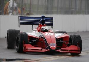 Martin Plowman is racing in the Firestone Indy Lights Championship with Panther Racing in 2009