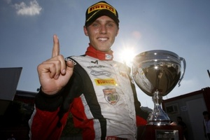 Max wins his first GP2 race in Budapest 29 July 2012