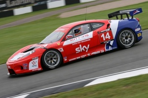 Michael Meadows raced in the British GT3 Championship in 2008 with CR Scuderia