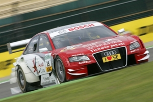 Oliver Jarvis is racing in the DTM championship with Audi Sport Team Pheonix in 2009