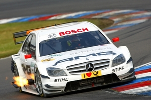 Paul di Resta is racing in DTM with AMG Mercedes in 2009