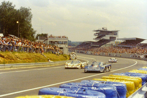 Ross at Le Mans 1989