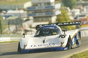 Ross racing at Zeltweg in 1990