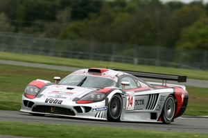 Ryan Sharp is racing in the FIA GT with K Plus K in 2009