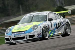 Tim Bridgman is racing in the Porsche Carrera Cup with Team Parker Racing in 2009