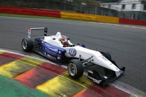 Emil in action at Spa