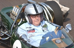 Sir Jack at the 2004 Goodwood Revival Meeting