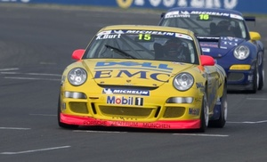 Kelvin in the 2006 Porsche Super Cup