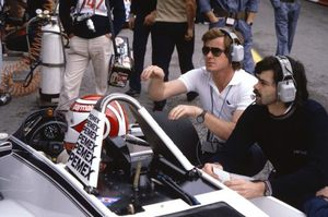 Alastair with Gordon Murray and Nelson Piquet at the 1981 Monaco GP