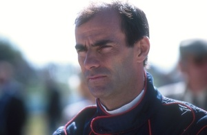 Emanuele at the Goodwood Revival Meeting, September 2001