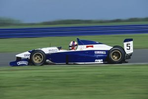 Gil at Silverstone in the 1994 FIA Formula 3000 meeting