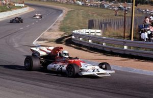 Howden in the BRM P160B in 1972 South African GP