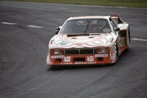 Hans driving the Lancia Beta Monte Carlo into 4th place at the 1980 Nurbugring 1000