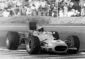 Henri in the Matra MS11 in the 1968 Mexico GP