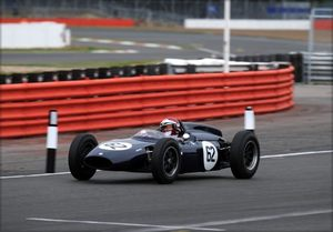 Ian at Silverstone Classic 2009