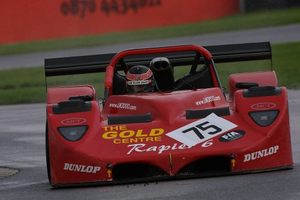 Ian at Donnington, 2001 in the FIA World Supercar Championship