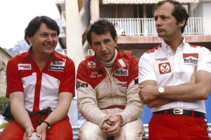 John with Ron Dennis &John Watson at the Monaco GP 1981