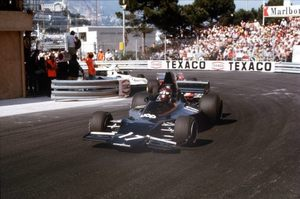 Jackie at the 1973 Monaco Grand Prix in the Shadow DN1A Ford