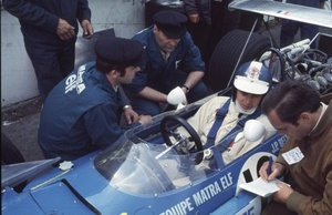 Jean Pierre in a Matra MS11, Silverstone 1971