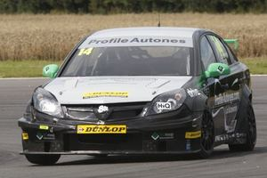 James in the Triple Eight Race Engineering Vauxhall Vectra
