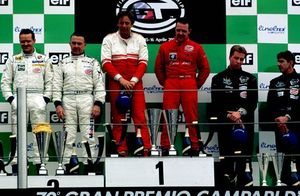 Jamie with Julian Bailey 3rd at Monza, 2000 in FIA GT Championship