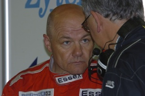 John at the 2006 Le Mans 24 Hours race in June