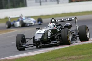 Jonathan in the Raikkonen Robertson Racing Dallara Mercedes at Zolder, Belgium in the 2007 Zandvoort Masters of F3.