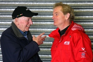 Jonathan sharing a conversation with John Surtees