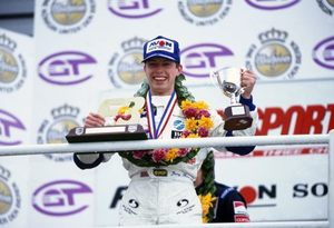 Jonny at Silverstone in 1997 British F3 Championship