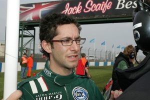 Michael at Donnington, 2007 at the British GT Championship meeting