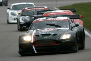 Michael in the 22GTRacing Aston Martin DBRS9 April 2008