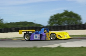 Mark in the Ford Lola B2K10 in July 2000 in the USA