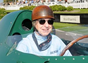 Tony in the Vanwall at Goodwood 2008