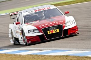 Tom in the Audi A4 in DTM Championship at Hochenheim 2009
