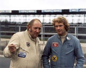 Win with Gerry Marshall at Silverstone, March 1979