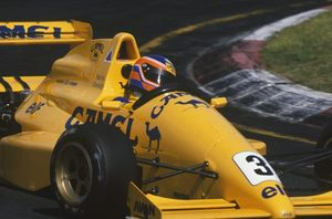 Martin in the Reynard 89D Mugen at Vallelunga, Italy in April 1989