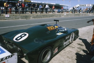 Alain at Silverstone 6 Hours race in 1980 driving the Lola