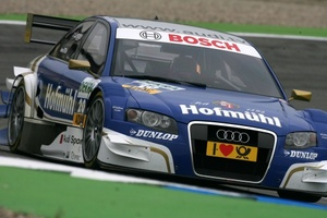 Katherine at Hockenhiemring in October 2008 in the TIME Audi A4